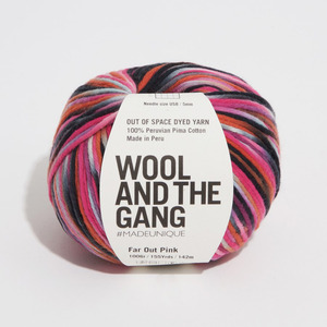 Space Dyed Yarn - Far Out Pink