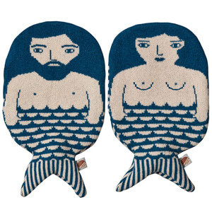 Merman Hot Water Bottle