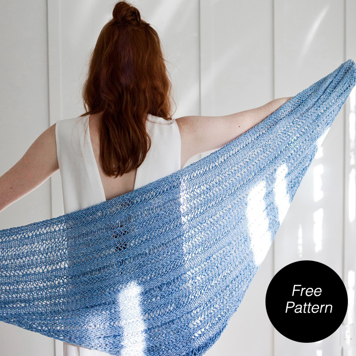 Sweet Marie Shawl kit